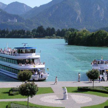 Füssen mit Schifffahrt Forggensee - Samstag 16.06.2018