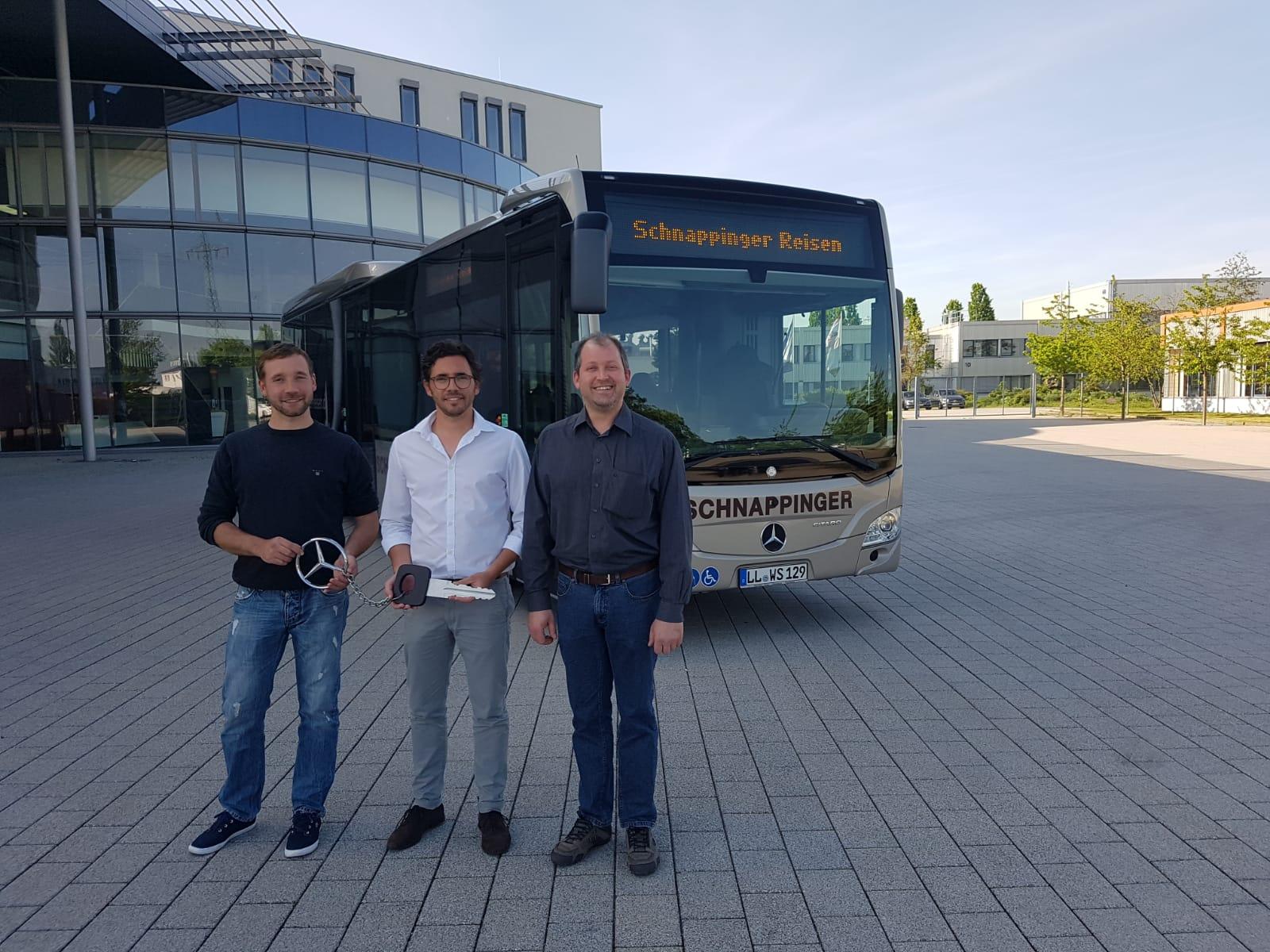 Der Umwelt zu Liebe… unser neuer Linienbus als Hybrid